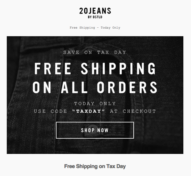 20 Jeans email