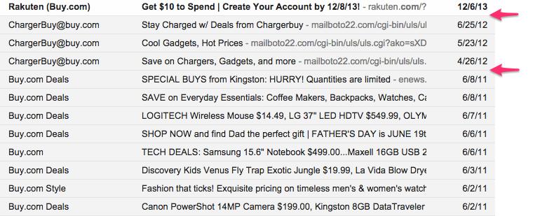 Buy.com inbox
