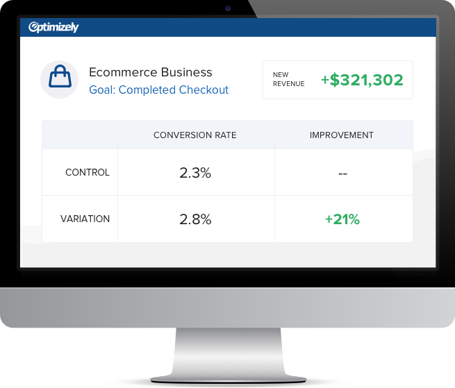 Optimizely Dashboard