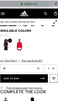 Adidas.com us Add To Bag