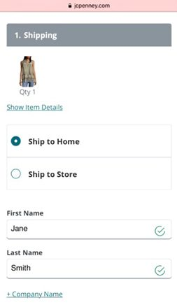 Jcpenney.com Shipping